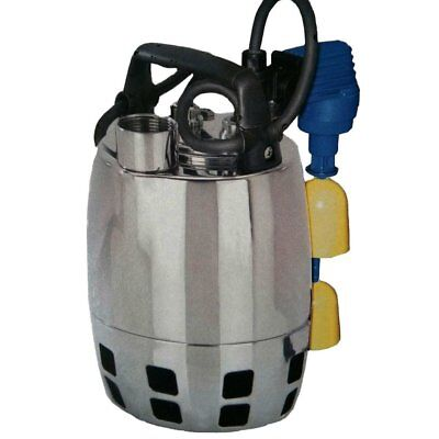 Submersible Vortex Pump Dirty Water CALPEDA GXV25-8m GFA 0,37kW 0,5Hp 230V 50Hz
