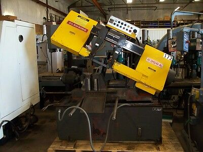 #9703: Clausing Automatic Horizontal Bandsaw