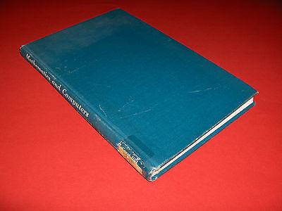 1957 Buch Mathematics And Computers History Design Problems Work Applications