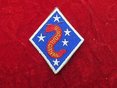USMC 2nd Marine Division PATCH Premium Quality Guadalcanal tag 1st style SNAKE