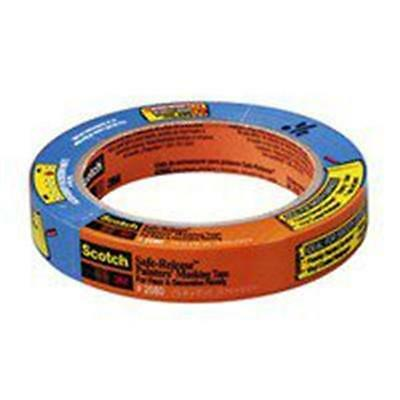 3M 2080-18A Blue Painters Tape .75 x 60 Yards