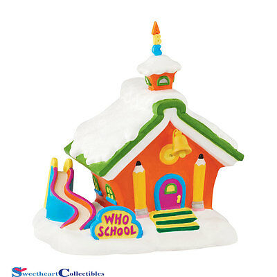 Department 56 Grinch Village Who School 4047196
