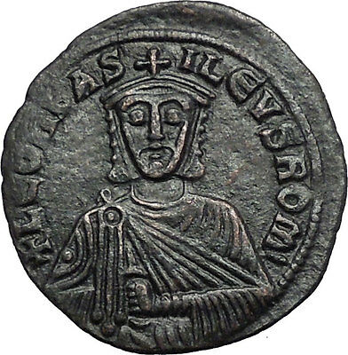 LEO VI the Wise 886AD Constantinople Ancient Medieval Byzantine Coin i55315