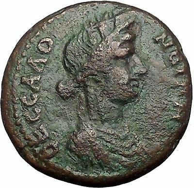 THESSALONICA in MACEDONIA 138AD Antoninus Pius Time GREEK Coin Kabeiros i55367