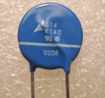 S14K140 Tdk Varistor Varistor 198V 4.5Ka Disc 14Mm 5- Piece Lot