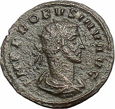 Probus 276AD  Ancient  Roman Coin Felicitas Good luck 'INV' Rare  i55339