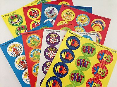 Scratch and Sniff Stickers - Praise Words CLASSROOM PACK (120 STICKERS)