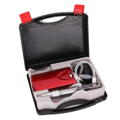 Rechargeable USB Electric Nail Art Files Drill Manicure Machine Tools Bits Set