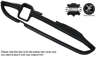 Black Stitching Dash Dashboard Leather Cover Fits Mercedes W110 W111