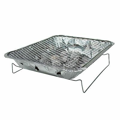 Disposable BBQ Instant Grill Charcoal Throw Away Outdoor Cooking Camping Summer