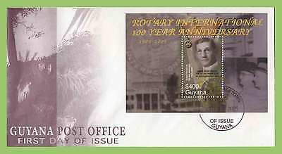 Guyana 2005 Century of Service Rotary International First Day Cover