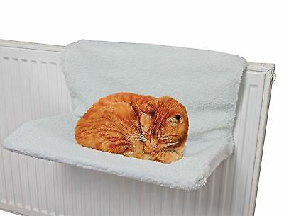 Cat Dog Pet Radiator Bed Fleece Hammock Warm Kitten Cradle Animal Basket