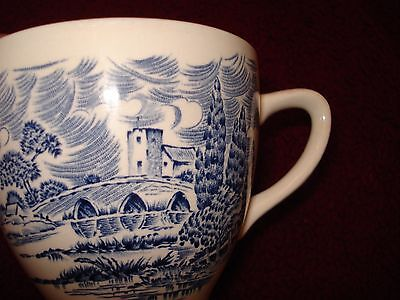 Countryside Enoch  Wedgewood Bone China Tea-Cup England Blue Castle