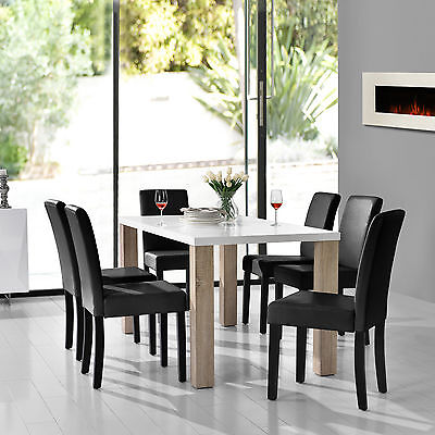 essgruppe set rudolph iii esstisch mit 6 st hlen k chentisch sitzgruppe eur 379 00 picclick de. Black Bedroom Furniture Sets. Home Design Ideas