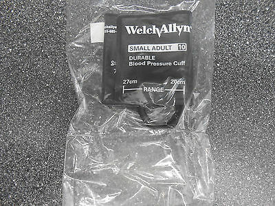 Welch Allyn 5082-205-3 Durable One Piece Cuff Small Adult 10 Latex Free 1 Tube