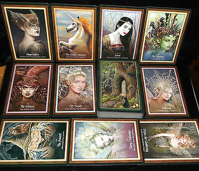 Sealed Brand New! Faery Forest Card & Book Oracle Wise Ones  Guidance & Healing