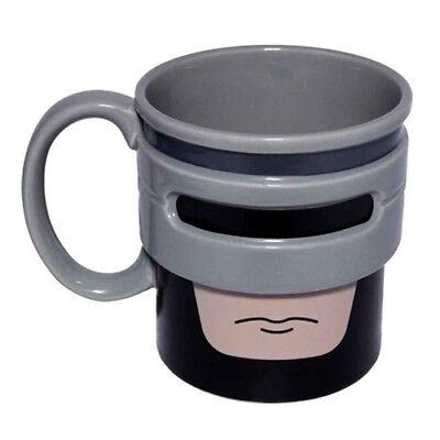 Heroic Robocup Mug Robot Movie Novelty Ceramic Microwave Travel Police Officer