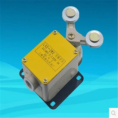 Lx2-232 NC SPDT box double locking Metal Rotary Roller Lever Limit Switch