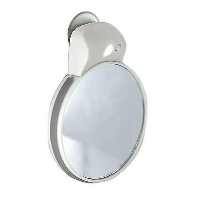 Travel Shaving Cosmetic Make Up Mirror LED White Light Vanity Compact Portable