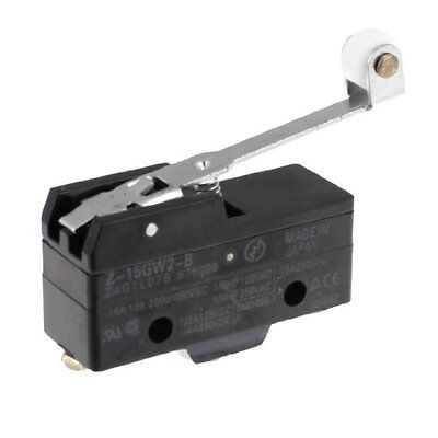Panel Mount Long Hinge Roller Lever AC DC Basic Micro Switch Z-15GW2-B