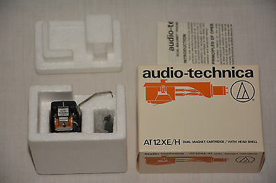 NOS audio - technica AT 12 XE / H dual magnet cartridge Tonabnehmer Turntable