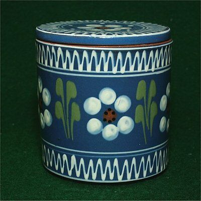 """German Pottery Canister/jar  with lid Cafe LUITPOLD Leopold  4"""""""