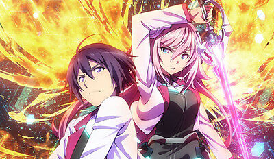 373 The Asterisk War PLAYMAT CUSTOM PLAY MAT ANIME PLAYMAT FREE SHIPPING Verzamelingen kaartspellen