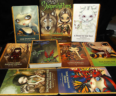 Sealed Brand New! Oracle Of The Shapeshifters Card & Book Set Animal Familiars
