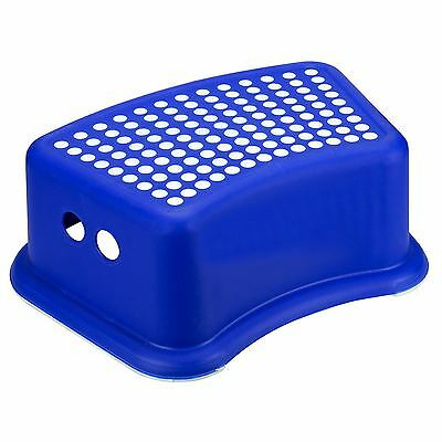 Children Kids Anti Non Slip Utility Step Stool Bathroom Solid Plastic Foot Seat