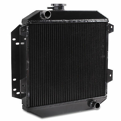 42Mm Black Edition Aluminium Twin Core Radiator For Ford Escort Mk2 1600 1.6 Rs