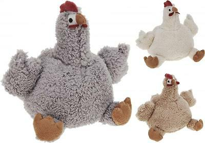 Chicken Design Fabric Door Stop Weight in Choice of Colours
