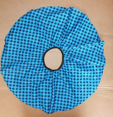 NWOT Checkered circle skirt w/attached petticoat small child girls 4-6 knee leng