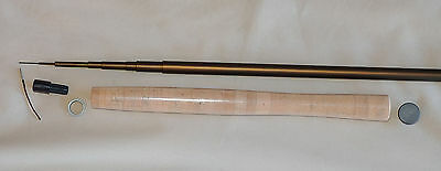 IM6 Tenkara Rod Kit,  7 Piece, 12 Feet, Dull Matte Brown, by Roger