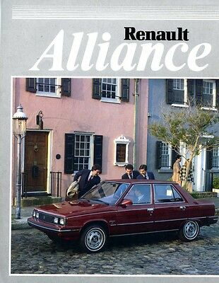 1983 Renault Alliance Brochure my6134