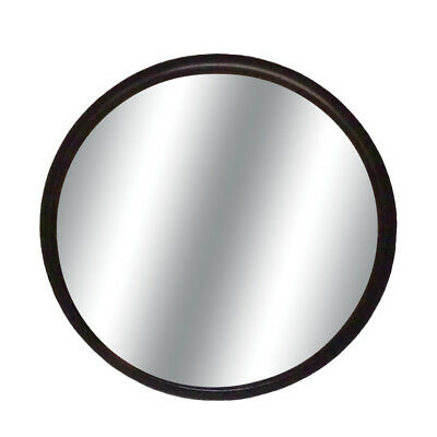 "Round 3"" Black Blind Spot Convex Glass w/ Stick-on Mount Mirror for Auto-Car"
