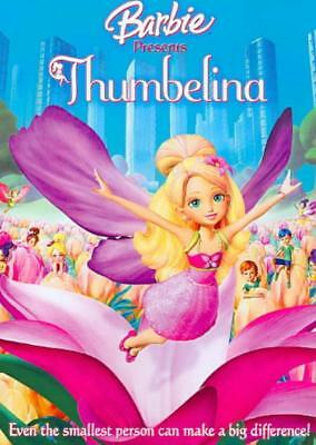 Barbie Presents Thumbelina New Region 1 Dvd