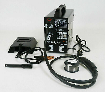 Professional Gasless Mig Welder 100A New No Gas 100 Amp 230V with Accessories