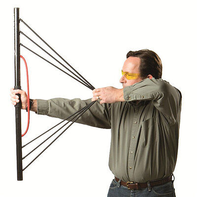 Archery Bow Trainer Excersier Muscle Memory Train Peak Draw Weight Safe Indoor