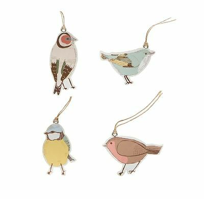 Sass & Belle Birds Shaped Gift Tags Vintage Place Card Tag Wedding Floral Labels