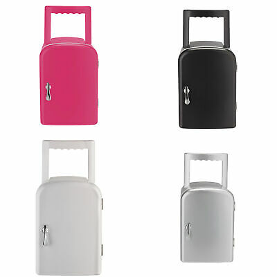 4 Litre Mini Table Top/Portable Travel Fridge-White/Pink/Black/Silver-From Argos