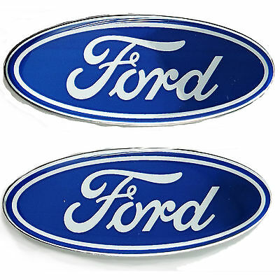 Licensed Ford 9420 3D Domed Emblem Logo Chroma Graphics Universal Car Truck New