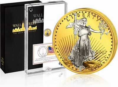 Wall Street Investment Gold Collection 2007 Liberty  - Eagle USA 1/10oz Gold ST