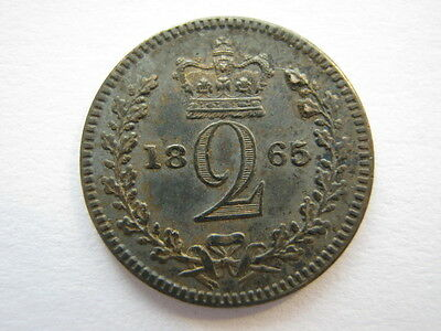 1865 Maundy Twopence