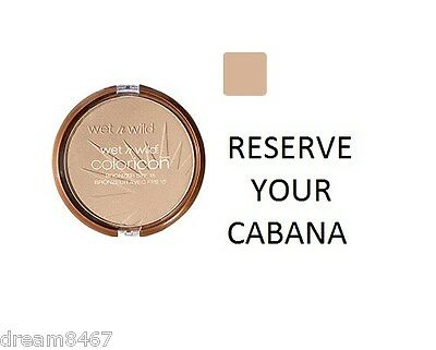 Trucco Terra Solare WET n WILD COLOR ICON Bronzer SPF 15 RESERVE YOUR CABANA
