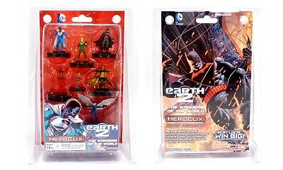 HeroClix DC Comics Earth 2 The Wonders Of The World Fast Forces Pack Free UK P&P