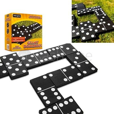 Giant Dominoes Garden Patio Outdoor Game For Kids Children & Family Summer Fun