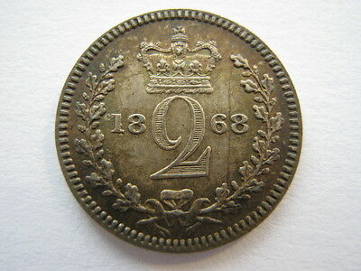 1868 Maundy Twopence