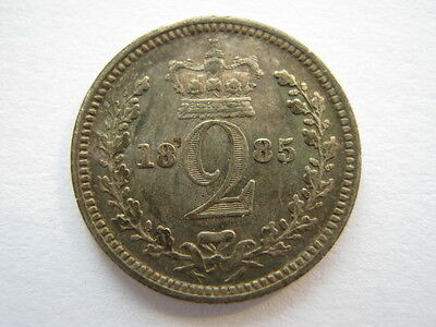 1885 Maundy Twopence