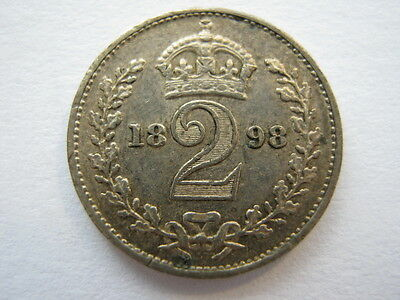 1898 Maundy Twopence