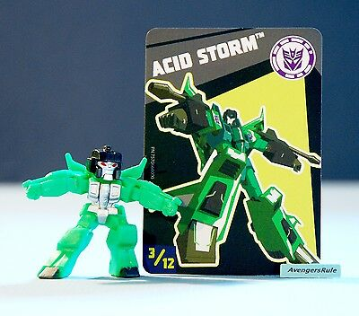 Transformers Tiny Titans Series 6 Robots in Disguise 3/12 Acid Storm